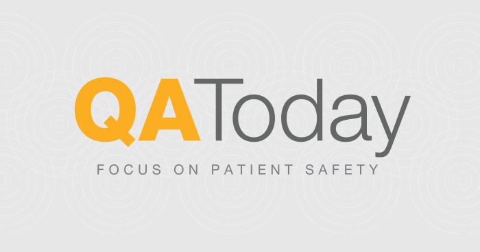 QA Today Patient Safety Sessions